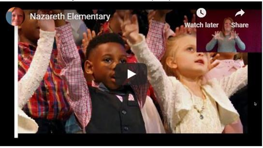 Nazareth Elementary ASL Virtual Tour