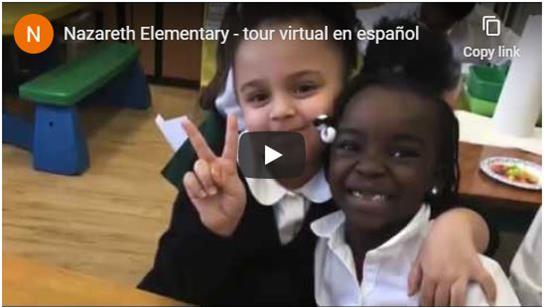 Nazareth Elementary Spanish Virtual Tour