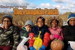 Kindergarten Visits Pumpkin Patch