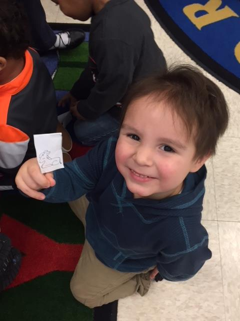 Finger puppet fun in PreK 3