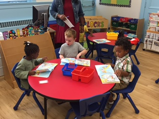 Reading with friends PreK 4