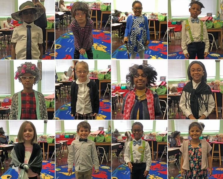 100-year old First Graders