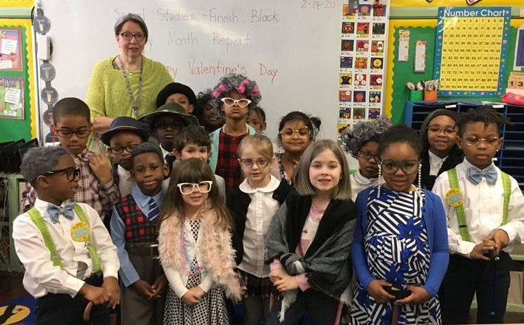 Mrs. Switalski's and her class
