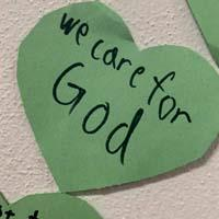 We Care for God