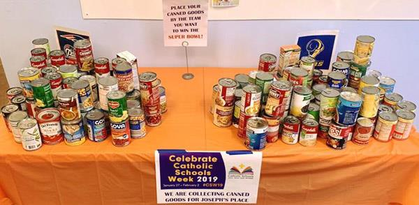 Cans for Joseph's Place