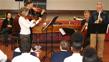 Violins, Cello and Recorder