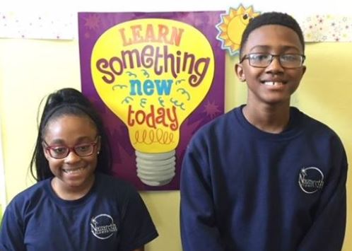Celebrate Sixth Shines on Chanelle and Christopher!